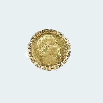 Bague Napoléon en or jaune