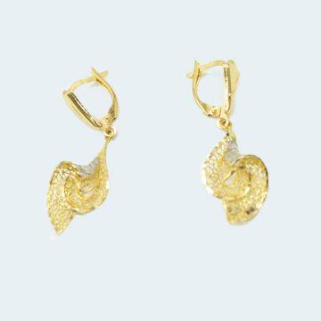 Boucles d'oreilles en or filigrane