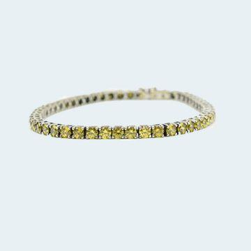 Bracelet moderne avec citrines