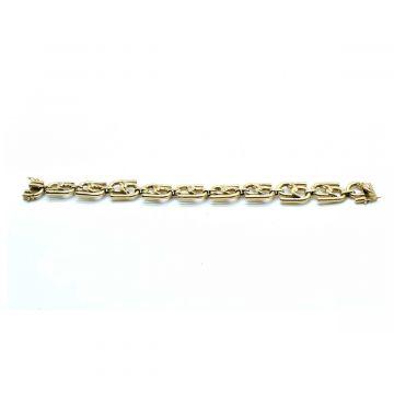 Bracelet en or grands maillons
