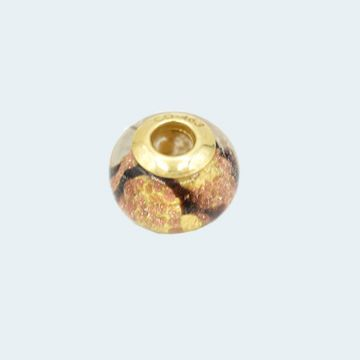 Pendentif ancien en or jaune avec motif serpent